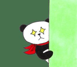 Banda the Lazy Panda sticker #11647182