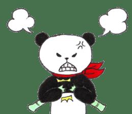 Banda the Lazy Panda sticker #11647183