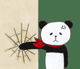 Banda the Lazy Panda sticker #11647184