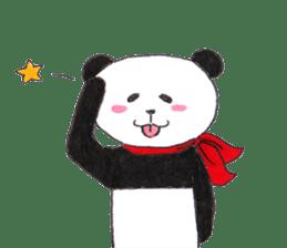Banda the Lazy Panda sticker #11647185