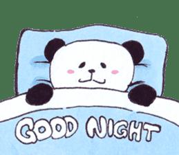 Banda the Lazy Panda sticker #11647191