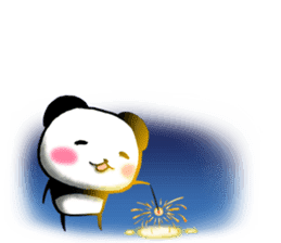 Message of Fireworks sticker #11659823
