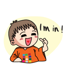 Rainbow Boy! sticker #11660716