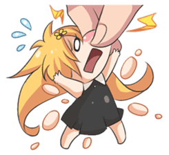 My Lily & Marigold can't be this Chibi 2 sticker #11664594