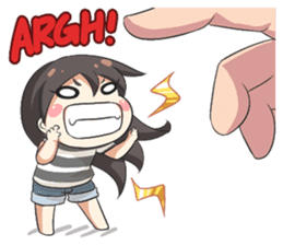 My Lily & Marigold can't be this Chibi 2 sticker #11664610