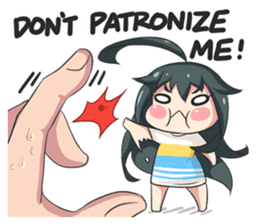 My Lily & Marigold can't be this Chibi 2 sticker #11664617