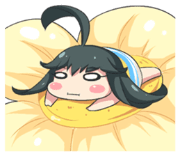 My Lily & Marigold can't be this Chibi 2 sticker #11664623