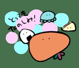 liver sticker #11665209