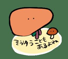 liver sticker #11665213