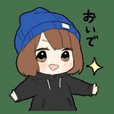 Nonchan2 sticker #11667191