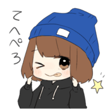 Nonchan2 sticker #11667206