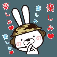 Usagi Corps fell in love