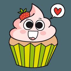 Jake the cupcake