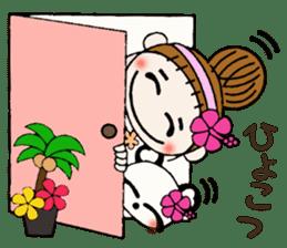 Hawaiian Girl ocyame of honorific Hen 4 sticker #11679588