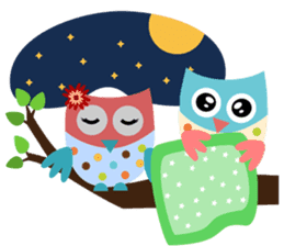 Owliver: Happy Life sticker #11682499