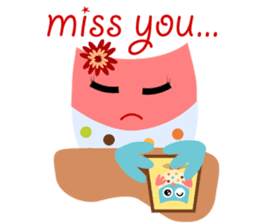 Owliver: Happy Life sticker #11682513
