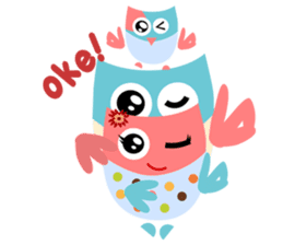 Owliver: Happy Life sticker #11682516