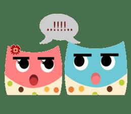 Owliver: Happy Life sticker #11682517