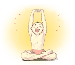 YOGA POSE sticker #11684489
