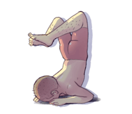 YOGA POSE sticker #11684497