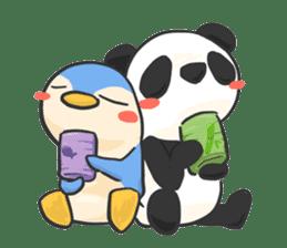 Penguin & Panda ver.Funny sticker #11685456