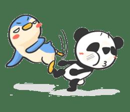 Penguin & Panda ver.Funny sticker #11685459