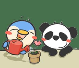 Penguin & Panda ver.Funny sticker #11685463