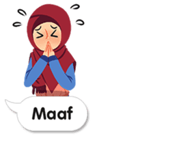 Hijab Sticker with Text Effect sticker #11698928