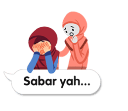 Hijab Sticker with Text Effect sticker #11698950