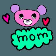 สติ๊กเกอร์ไลน์ For mom.