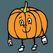 สติ๊กเกอร์ไลน์ Pumpkin Brat