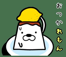 Tofu dog named Toufinu(1) sticker #11707301
