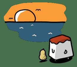 Tofu dog named Toufinu(1) sticker #11707311