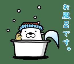 Tofu dog named Toufinu(1) sticker #11707318