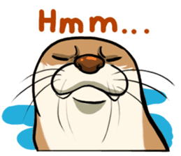 A Cute otter sticker #11712803