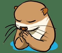 A Cute otter sticker #11712805