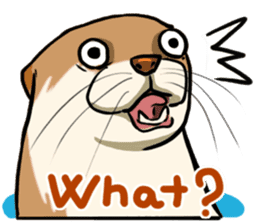 A Cute otter sticker #11712806