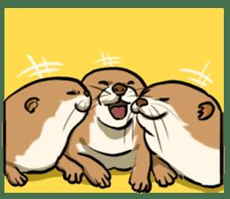 A Cute otter sticker #11712808