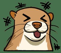 A Cute otter sticker #11712812