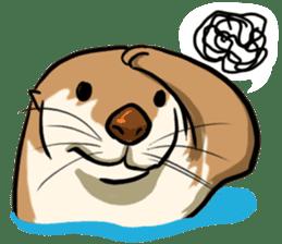 A Cute otter sticker #11712817