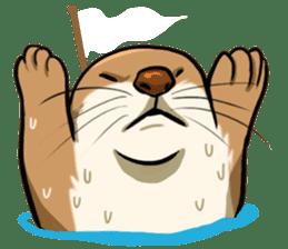 A Cute otter sticker #11712818