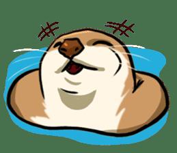 A Cute otter sticker #11712820