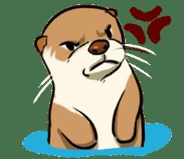 A Cute otter sticker #11712821