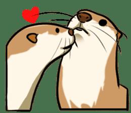 A Cute otter sticker #11712824