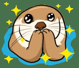 A Cute otter sticker #11712826
