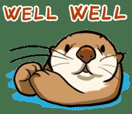 A Cute otter sticker #11712831