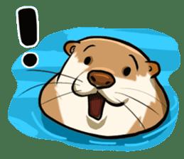 A Cute otter sticker #11712832