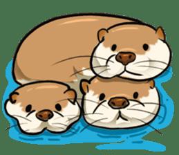 A Cute otter sticker #11712833