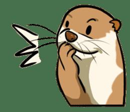 A Cute otter sticker #11712836