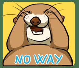 A Cute otter sticker #11712837